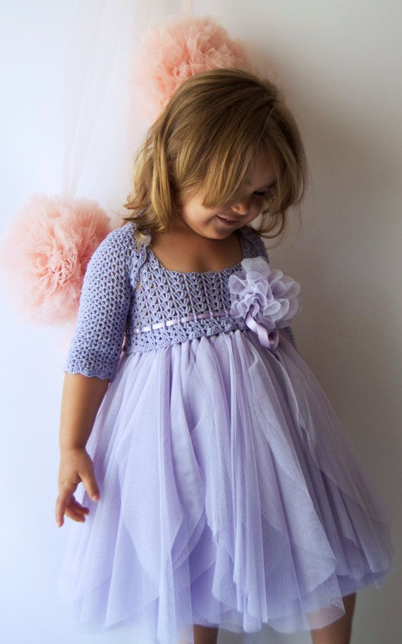 These boleros are perfect accompaniment to any of our dresses to provide more coverage and a totally different look. The shrug comes in a dress matching color and is 3/4 sleeve length.  These boleros can keep your little one warm without detracting from a special occasion dress. A lovely finishing touch for a party outfit.   Your child will be able to wear this long after the wedding! It looks lovely with tanks and jeans!  It is made in super soft and smooth stretch yarn %90 Premium Mikr...