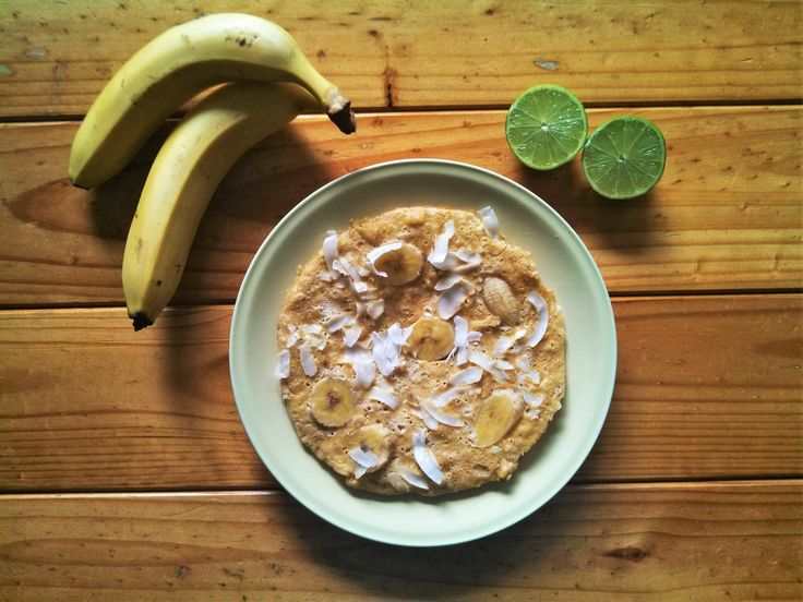 Banana maca pancake