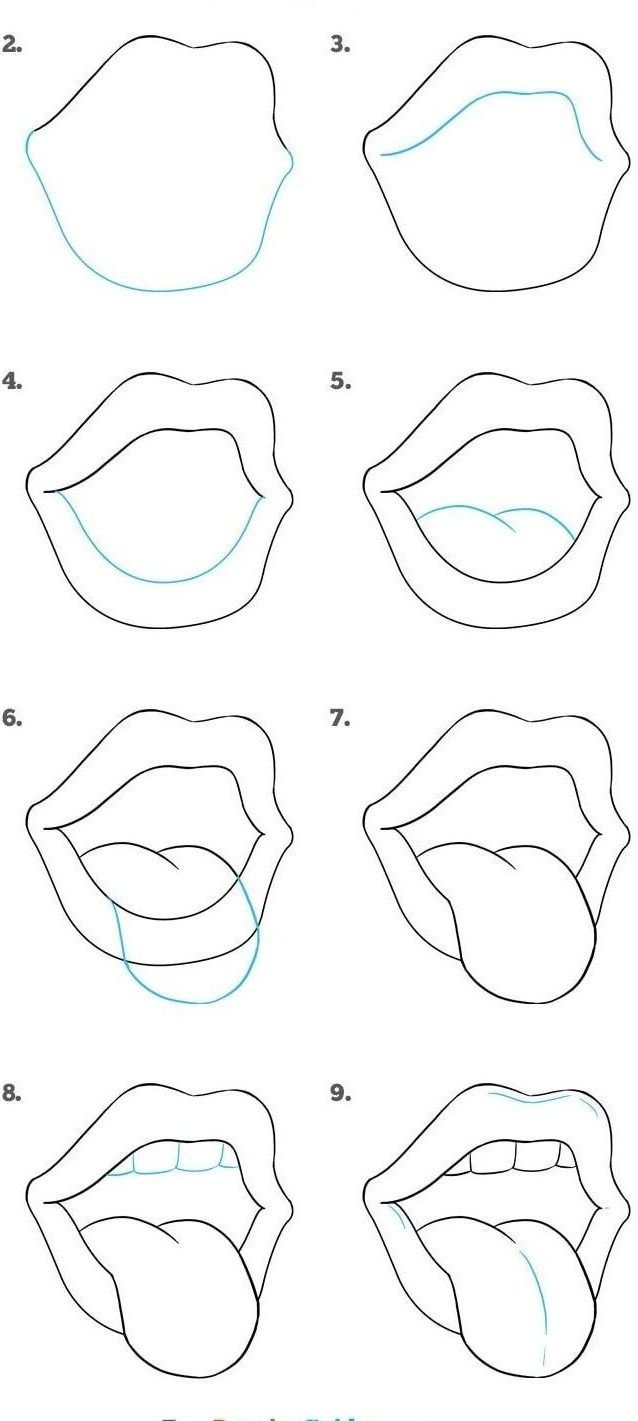 Easy Things To Draw For Beginners Step By Step : things, beginners, Drawing, Tutorials, Beginners, Things, Step,, For…, Tutorial, Easy,, Doodle, Drawings