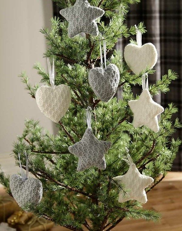 Knitted Xmas Tree Decorations Patterns : Best 20+ Knitted Christmas Decorations ideas on Pinterest Knit christmas or...