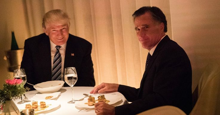"""Roger Stone: Trump arranged Secretary of State meeting to """"torture"""" Mitt Romney. Our President-Elect is a cruel man. (asdf.png)"""