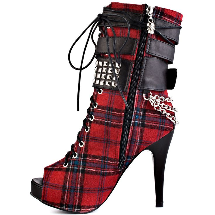 Abbey Dawn Tartan boots - they're beautiful!