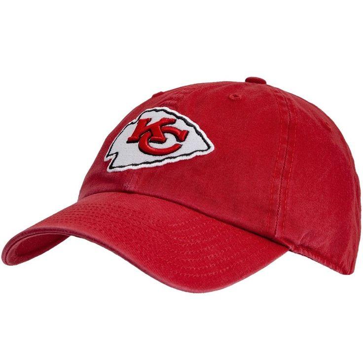 Kansas City Chiefs - Logo Clean Up Adjustable Red Baseball Cap