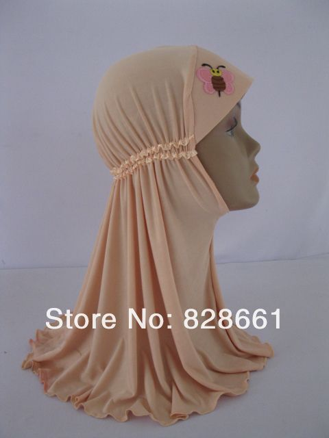 Islamic hijab for girls,with picture can be dropped,(12 pcs/lot) +free shipping  100% Brand New The picture in the hijab can be dropped Free size:38*42cm size,Stretch Elastic,Adjustable This product has  24 colors to choose:black,gray,khaki,yellow,purple,blue,light blue,pink,green,yellow,red,light red...... Material:fabric of polyester and cotton free shipping,Items are shipped by China post airmail,usually takes 10-35 working days.