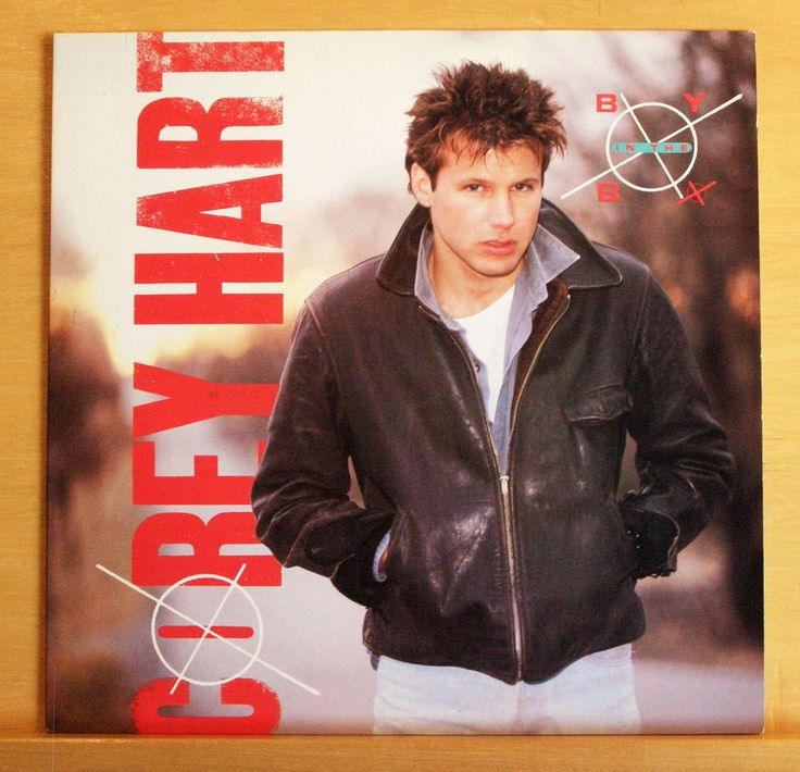 COREY HART Boy in the Box Vinyl LP Never surrender Everything in my Heart RARE