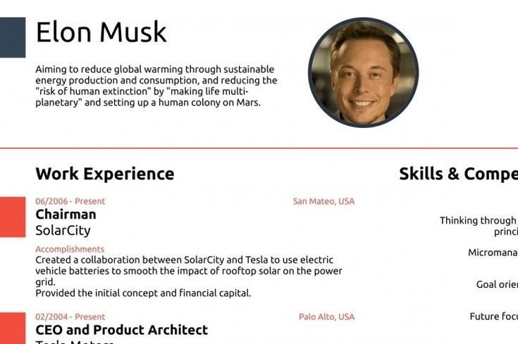 The 25+ best Elon musk cv ideas on Pinterest Tesla motors, Elon - product architect sample resume