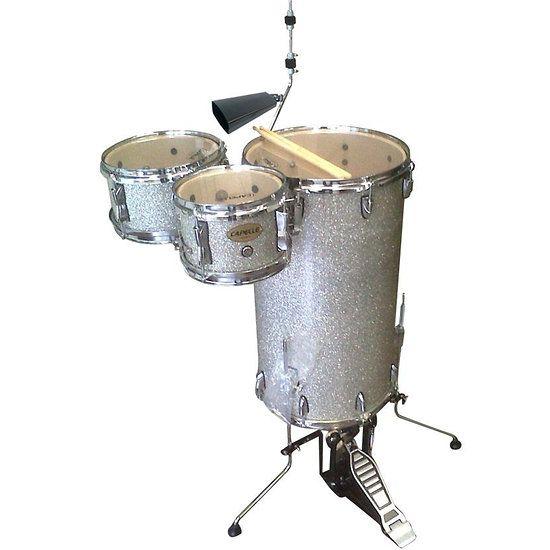 Batterie Acoustique Cokctail Drum Capelle Silver Sparkle