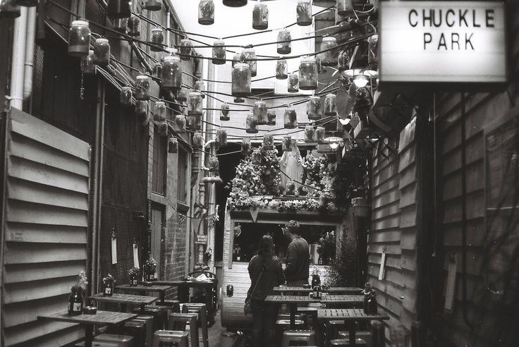 Chuckle Park Cafe, Little Collins St, Melbourne