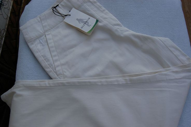 New Glenmuir Ladies Stella Cotton Golf Trousers Winter White Size 10, 12, 14