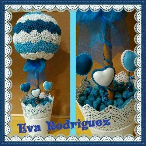 Topiario azul