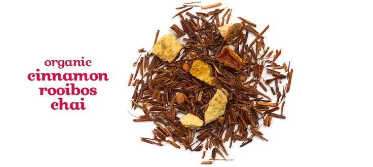 Organic Cinnamon Rooibos Chai - South African Rooibos Tea Made With Cinnamon, Cloves And Orange Peel   DavidsTea