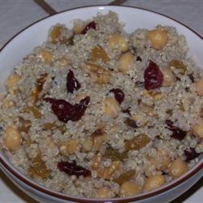 Garbanzo Bean and Quinoa Salad