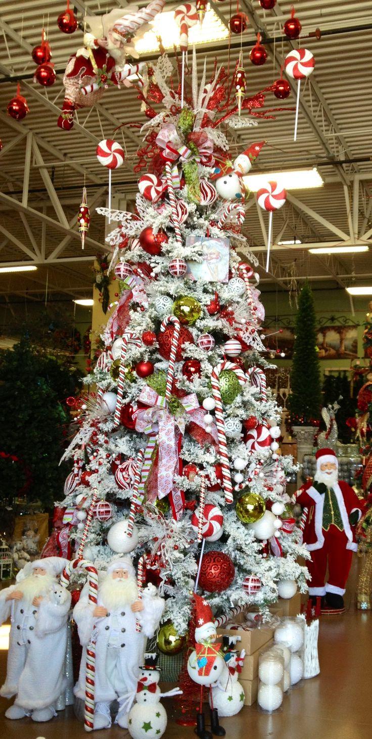Candy cane christmas tree arcadia pinterest