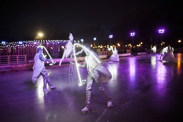 """Ice Skating Night"" will be held in Moscow"