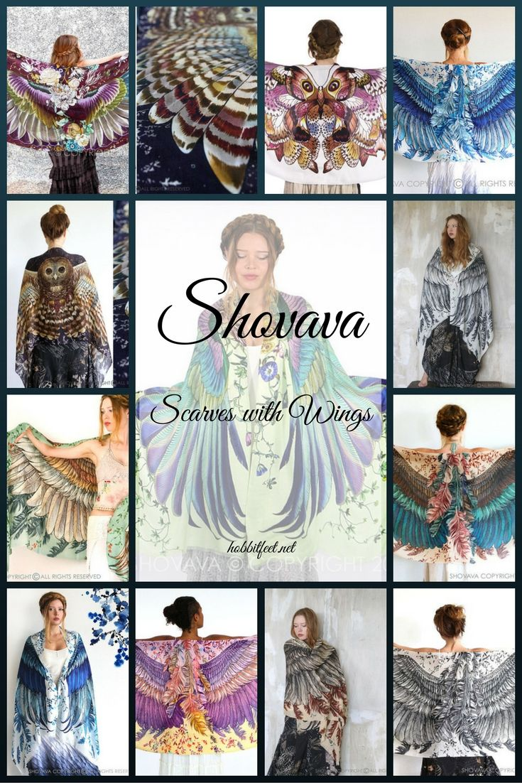 Shovava--Scarves with Wings