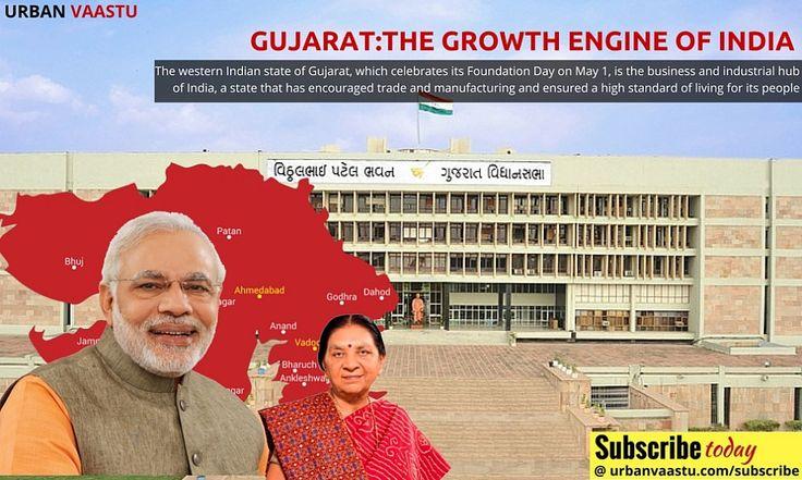 #Gujarat:The Growth Engine Of India #Urbanization