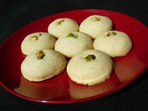 Around this time of year (or any time of the year, for that matter), everyone is looking for cookie recipes. Here is a Nan Khatai (Indian Tea or Coffee biscu...