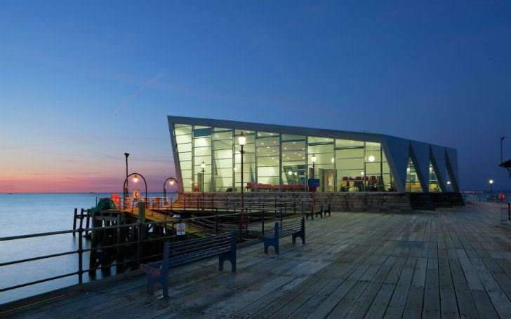 Prefabricated Southend Pier Cultural Centre Sits At the End of the World's Longest Pleasure Pier