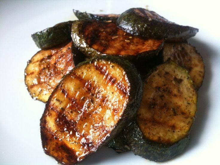 Grilled/Bbq Zucchini  (Yumm)