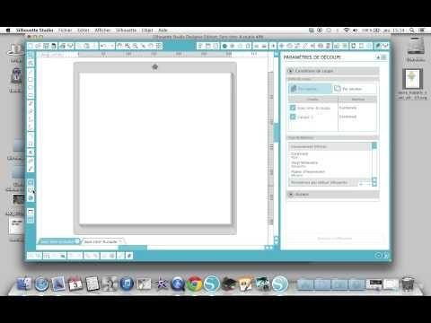 Le nouveau logiciel Silhouette version 3, un petit tour, en français