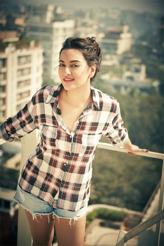 Rare photo of actress Sonakshi Sinha