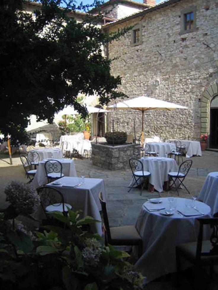 Castello di Spaltenna, Gaiole in Chianti (Toscana)