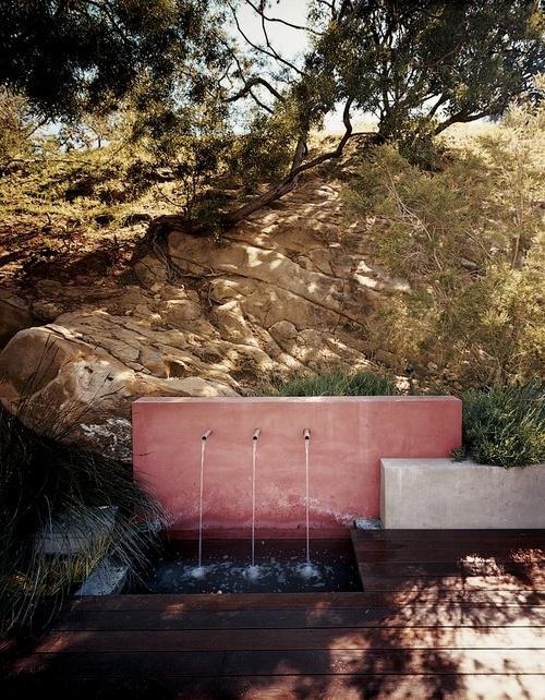 #outside - water fountain
