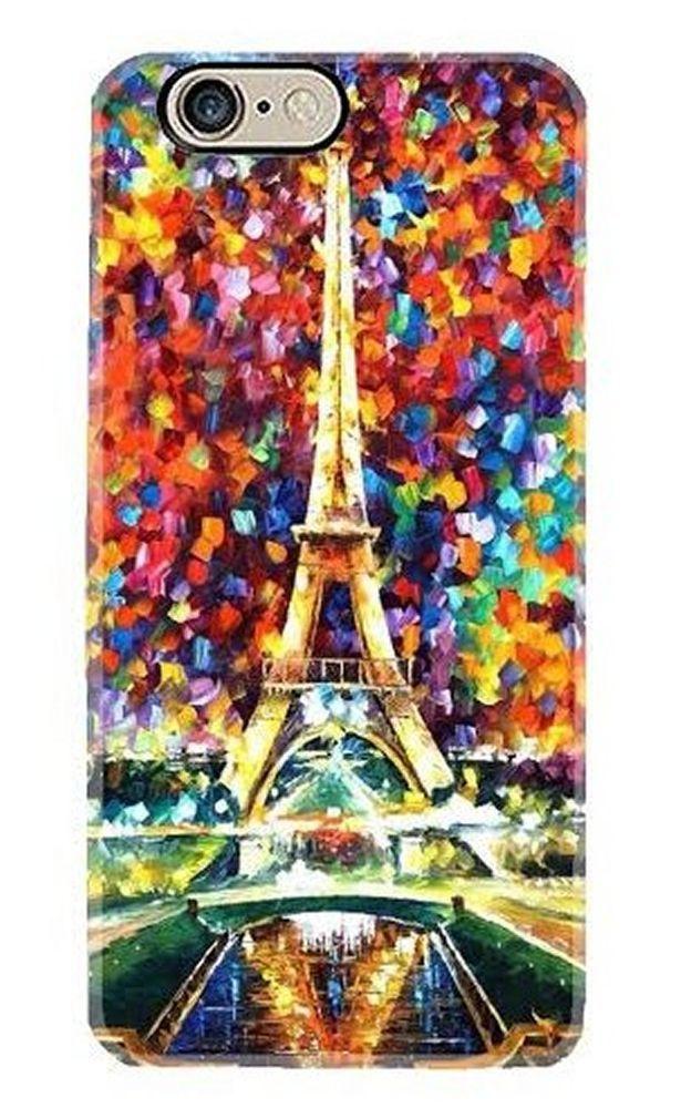 Iphone 6/7 case  6S 6| 7 plus cell phone cover Paris Eiffel Tower light flower #handmade
