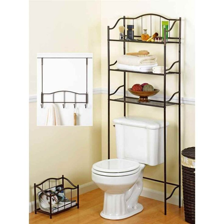 The great thing about a complete bathroom set is that you get essentially three furnishings for an incredible price.  The sets include a space saver or with other words a cabinet over toilet, a toilet paper holder or a magazine rack and a door hook. Check out the Top 2 Complete 3-piece Bathroom Sets around $40 at Little Big Life.