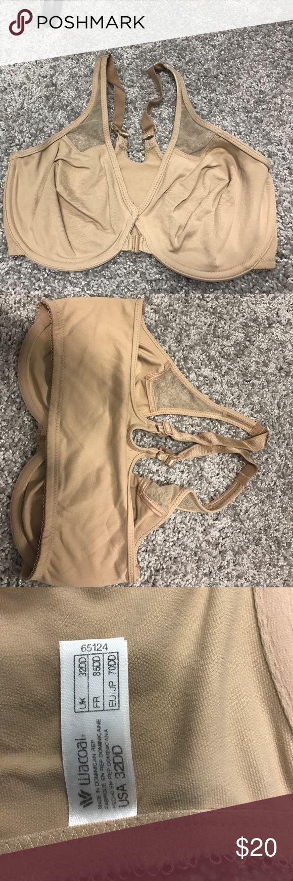 Wacoal bra Front closure nude wacoal bra. Size 32DD Wacoal Intimates & Sleepwear Bras