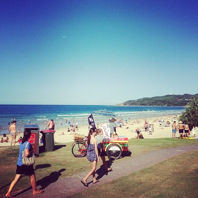 """Byron Bay - """"15 Happiest Cities in Australia"""" - a smile study by Jetpac City Guides"""