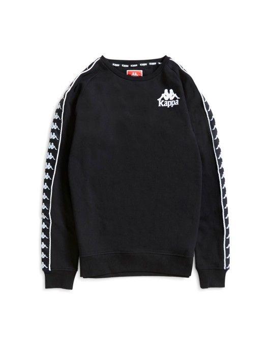 cda52fc55785 Kappa Hassan Sweatshirt Black