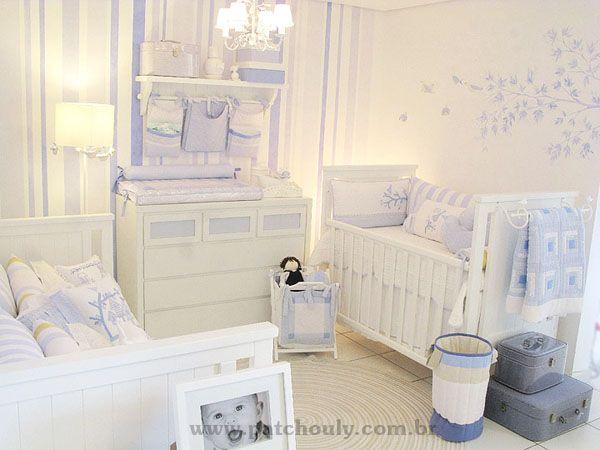 paz e tranquilidade - quarto de menino, tema de passarinho, da Patchouly!