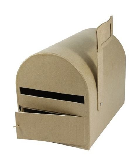 Urne en forme de boîtes aux lettres américaine : Cartonnage par place-aux-loisirs