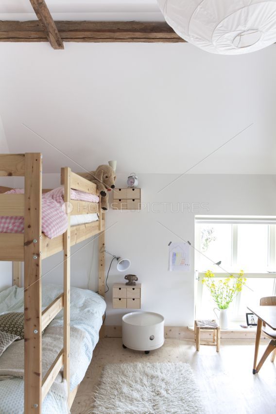We Have This Same Bunk Bed.I Like It In The Girls Room Idea.