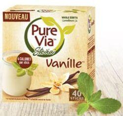 Edulcorant Pure Via Vanille | Packaging