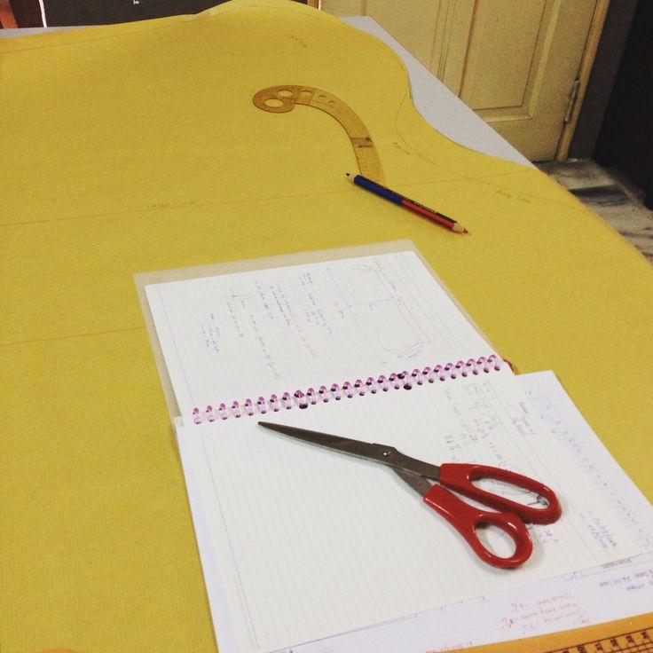 drafting shawl butterfly or buat pola selendang ala butterfly  #kaykareem