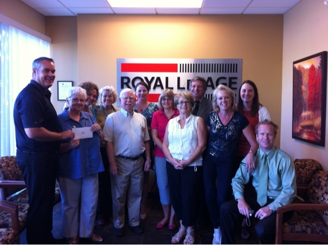 Royal LePage Kelowna: Royal Lepage Kelowna Happy To Give Back