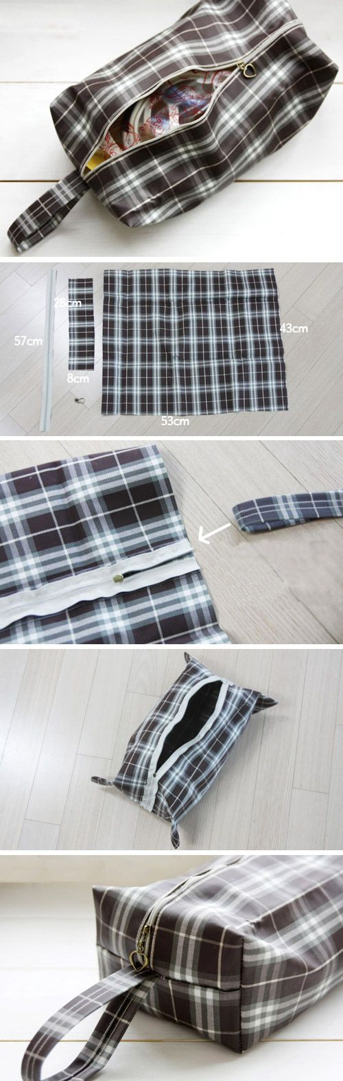 Waterproof Bag - great for traveling but also would be awesome for toting wet swimsuits home. DIY Pattern & Tutorial.   http://www.handmadiya.com/2015/11/waterproof-bag-tutorial.html