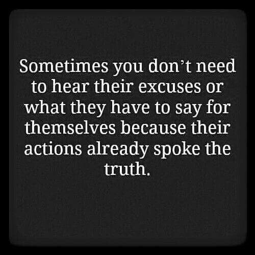 If you  want to know someone follow the tongue in their shoes (behaviors) rather than the tongue in their mouth . . .
