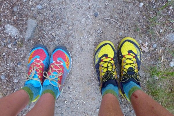 Trail Shoes: La Sportiva Bushido Trail Running Shoe – This shoe saved my feet last summer from plantar fasciitis that features a stiff mid-sole that is responsive, grippy, and the shoe is very comfortable.