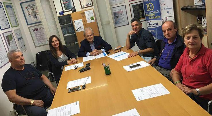 29/9/2016. Carlo Donati e Giordano Frangipani confermati alla guida della Federazione Moda di Confartigianato Arezzo