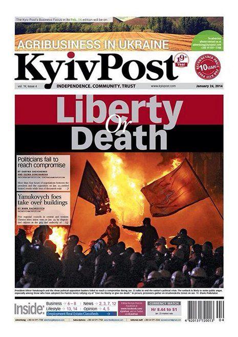 Las 20 portadas de diarios y revistas que impactaron el 2014 | AdriBosch's Magazine