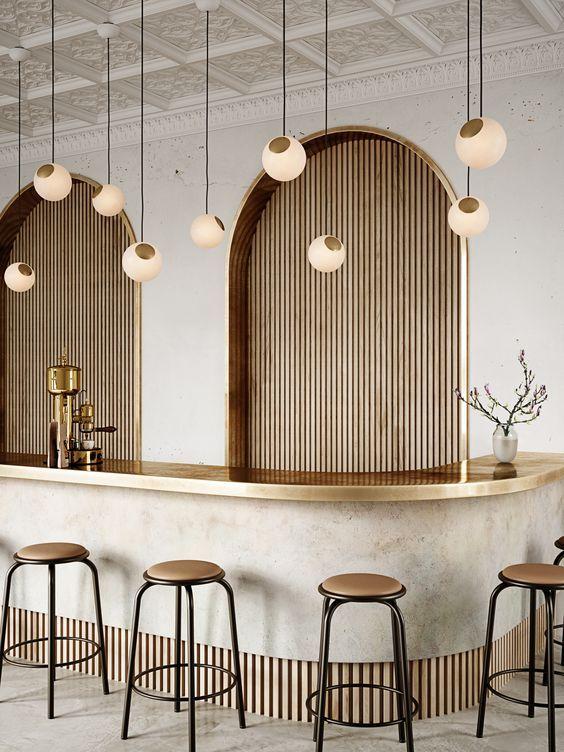 Coffee Shop Interior Design, Coffee Shop Design, Restaurant Interior Design, Design Hotel, Office Interior Design, Cafe Design, Interior Styling, Coffee Cafe Interior, Restaurant Interiors