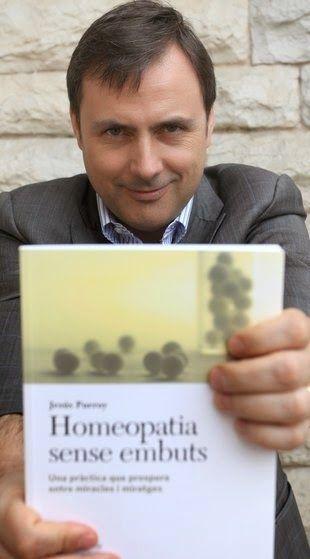 José Miguel Pueyo: La homeopatía no merece un libro
