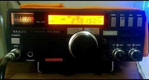 radio hf yaesu ft80c banda corrida