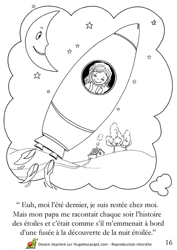 17 best images about contes et histoires pour enfants on pinterest belle mandalas and classic - Dessin d une fusee ...
