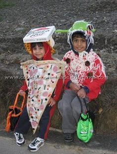 Pasta and Pizza Costume... This website is the Pinterest of costumes