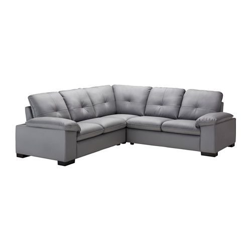 DAGSTORP Corner sofa 2+2 IKEA Seat cushions filled with high resilience foam and polyester fiber wadding provides great seating comfort.