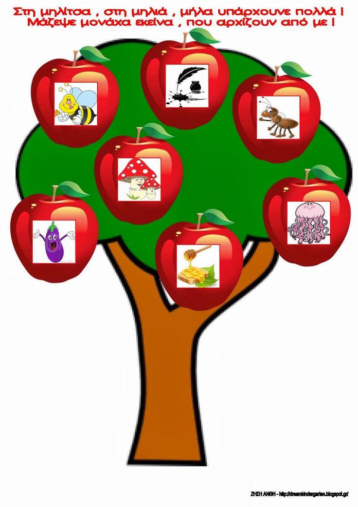 Το νέο νηπιαγωγείο που ονειρεύομαι : Με τη μηλίτσα, τη μηλιά , το Μ μ μαθαίνω με χαρά !
